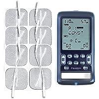 Flexistim + Paquete de 12 Electrodos TensCare - Completo electroestimulador con 4 terapias: EMS, TENS, IFT y MICROCORRIENTE. Para uso profesional y en el hogar.