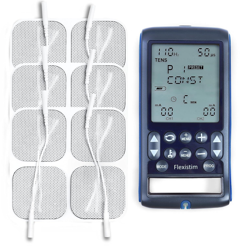 Flexistim – Completo electroestimulador  Paquete de electrodos x mm
