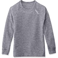 Odlo Long Sleeve Crew Neck Warm Camiseta, Bebé-Niños