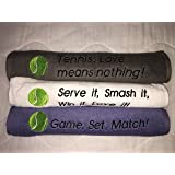 Amazon.com: Keep Calm Tennis Towel: Home & Kitchen