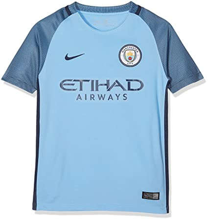 b65f131746a Nike Manchester City Kids Home Stadium Soccer Jersey (Field Blue) Youth  Small