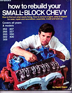 how to rebuild your small block chevy david vizard 0075478010295 rh amazon com small block chevy rebuild book small block chevy engine rebuild manual