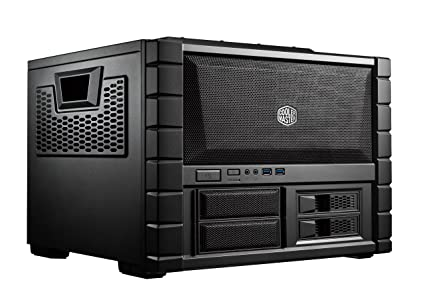 Cooler Master HAF XB EVO - High Air Flow Test Bench and LAN Box Mid Tower Computer Case with ATX Motherboard Support Computer Cases at amazon
