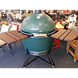 Composite Shelves EGG Mate for Large (L) Big Green Egg - EGG (2 shelves with three slats) Official Big Green Egg Grill & Smoker Accessories Are A Must For Big Green Egg Users.