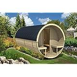 Allwood Barrel Sauna #400-WHP WOOD HEATER