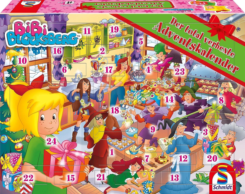 Schmidt Spiele 40590 Bibi Blocksberg Adventskalender 2018 Schmidt Spiele GmbH Weihnachten empfohlenes Alter: ab 5 Jahre Briefchen