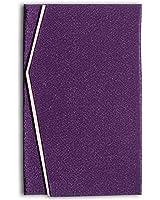 日本製 高級 二重 ちりめん 金封 ふくさ 紫紺 ( 慶弔両用 )E-802