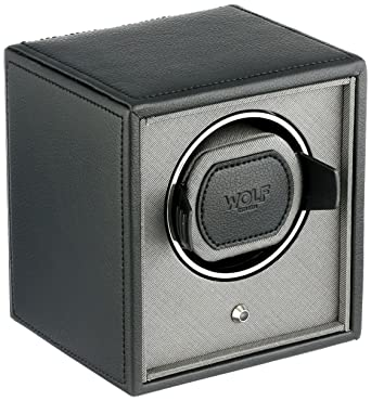 amazon com wolf 455203 cub single watch winder black watches