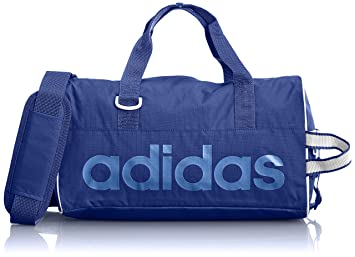 adidas Linear Performance Sports Bag Blue Collegiate Royal Bright  Royal White Size XS 06bbbd01f9