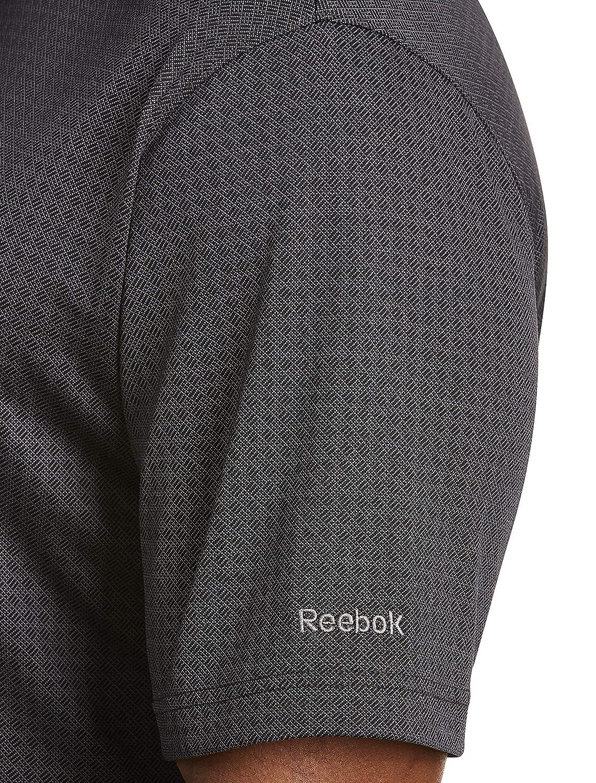Reebok Big and Tall Textured Jacquard Speedwick Polo