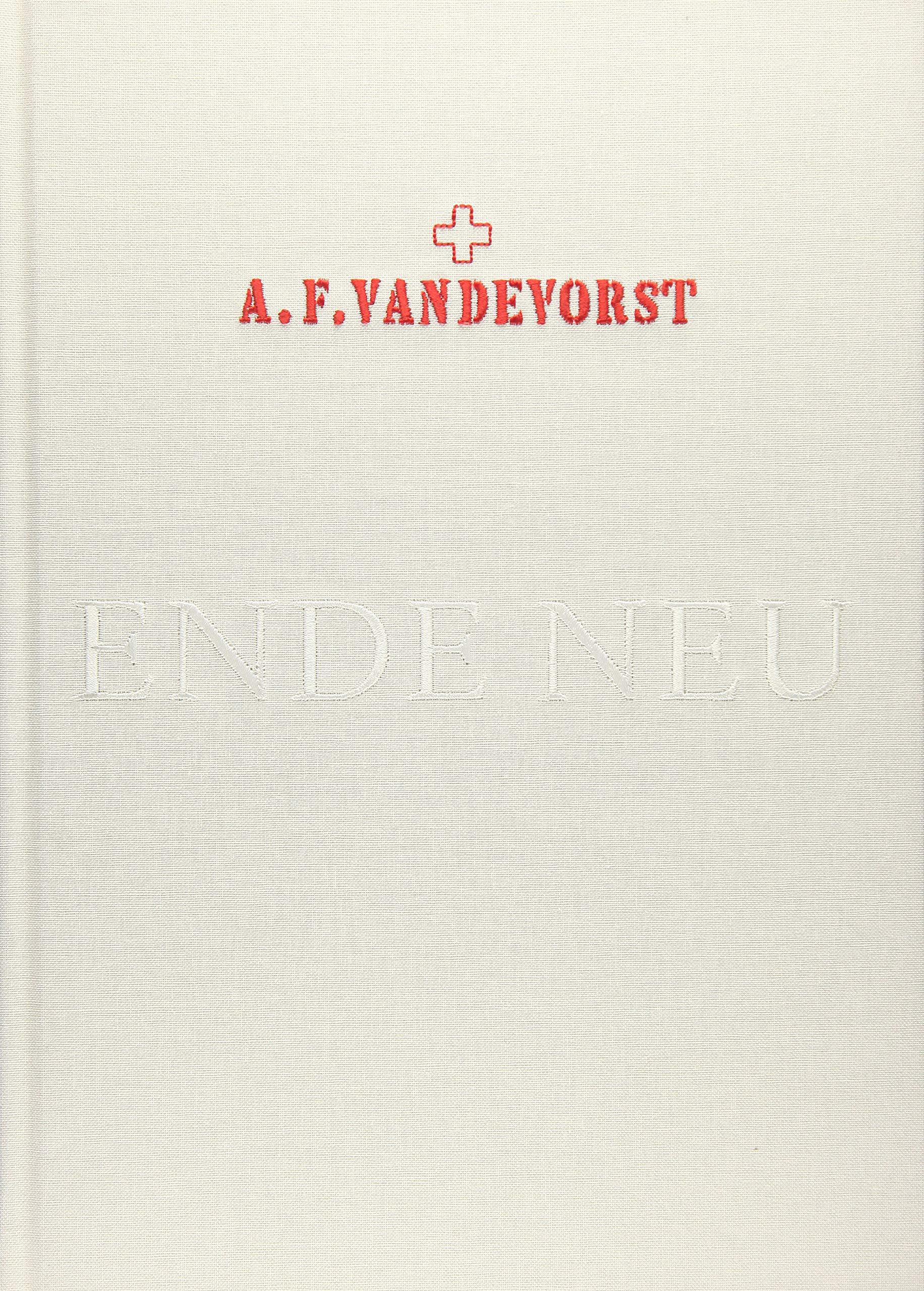 A.F.Vandevorst: Ende Neu