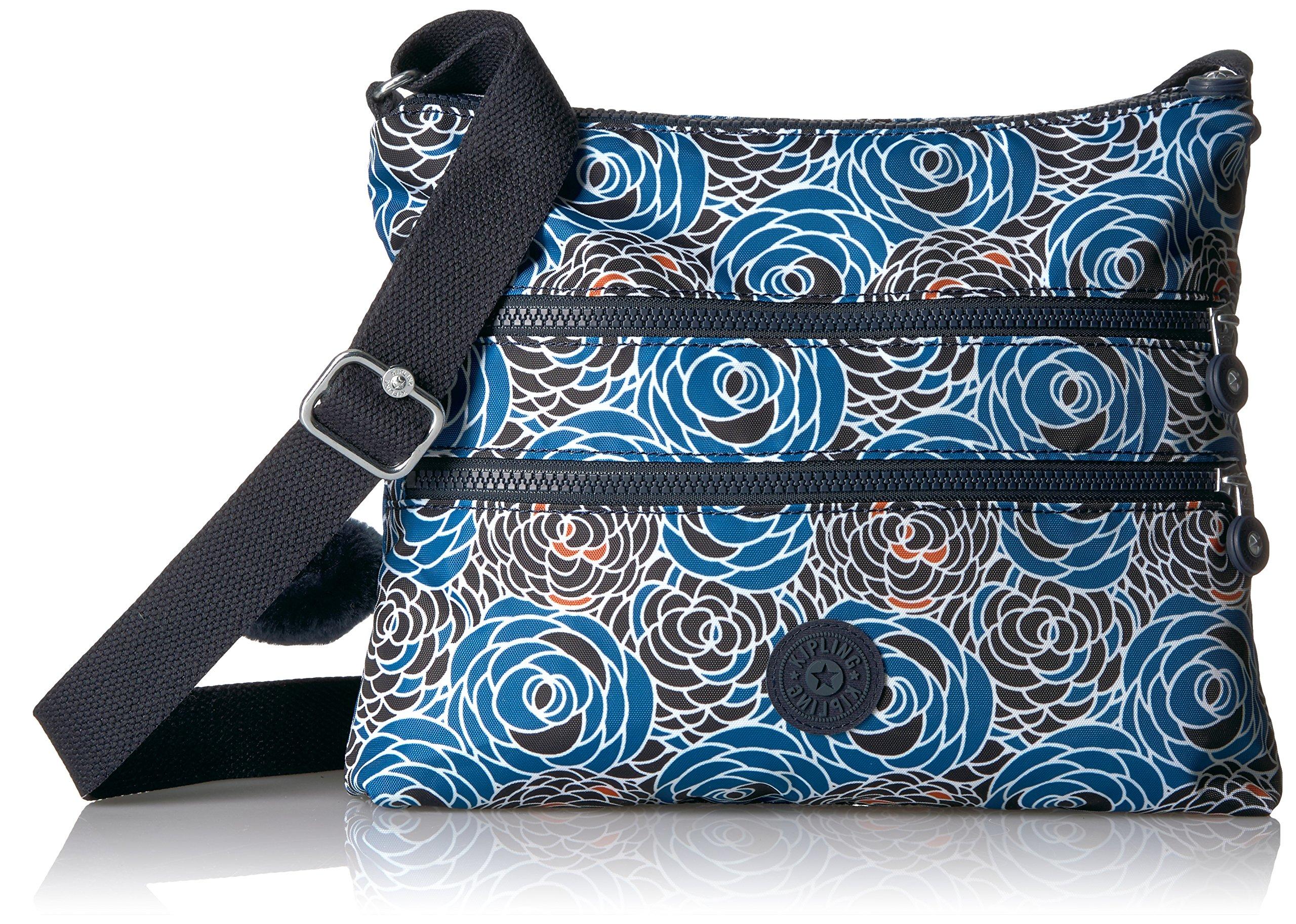 Kipling Women's Alvar Printed Crossbody Bag, Piercing Posies