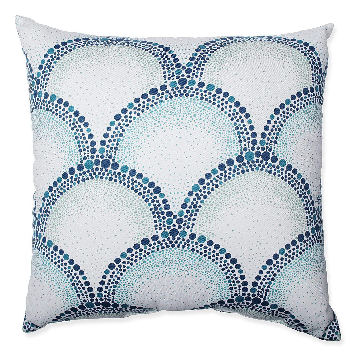 589305 Pillow Perfect Shelamar Teal 24.5-Inch Floor Pillow Inc