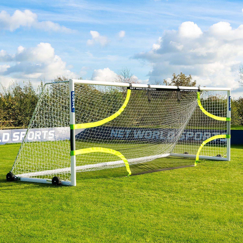 Forza Pro Soccer Goalターゲットシート( Choose Yourサイズ – 12 x 6 – 24 x 8 ) – プロサッカートレーニング装置の精度を向上、仕上げテクニック[ Net世界スポーツ] B077XWSJKV 3m x 2m (Futsal)