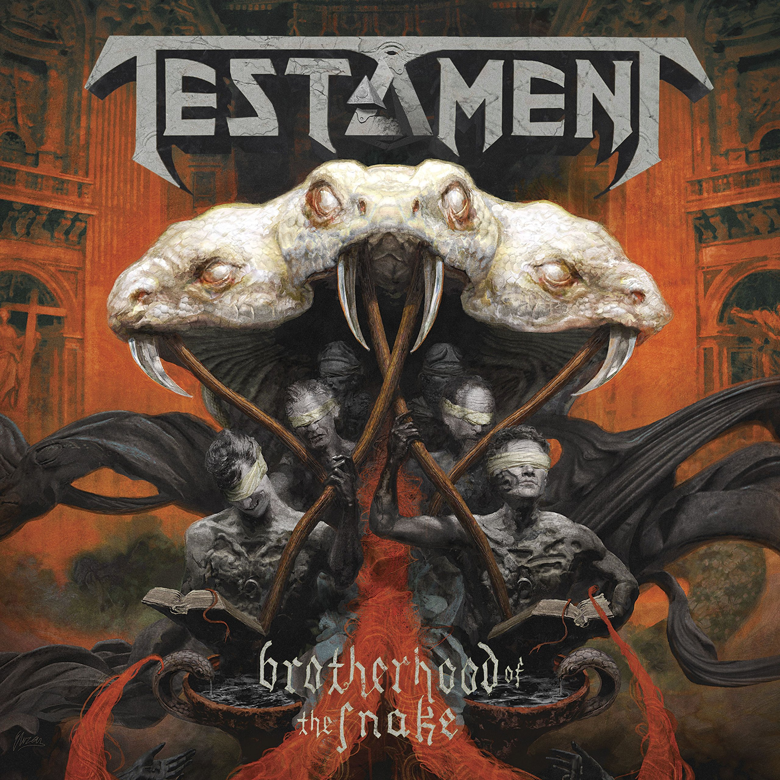 CD : Testament - Brotherhood Of The Snake (CD)