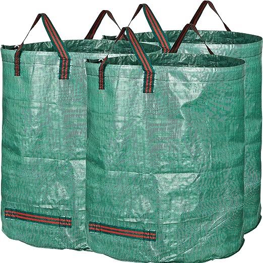 GardenMate® 3 Sacos de jardín 300 L PROFESIONAL tejido de polipropileno (PP) robusto: Amazon.es: Jardín