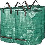 GardenMate 3x sacs de jardin 300L indéchirables