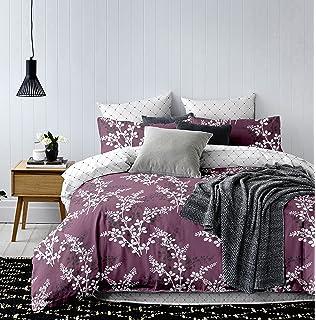 3pcs Double 200x200 cm Duvet Cover Set 2 Pillowcases 80x80 Floral Pattern  Motive Flowers Bedding Microfibre