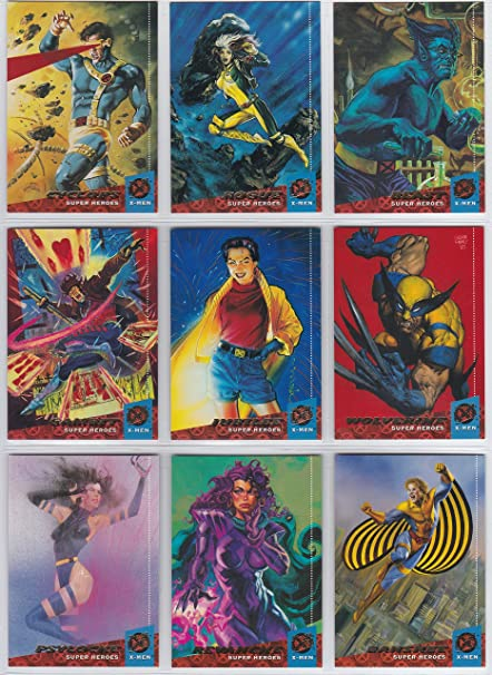 Amazon.com: 1994 Fleer Ultra x-Men Base conjunto de tarjetas ...