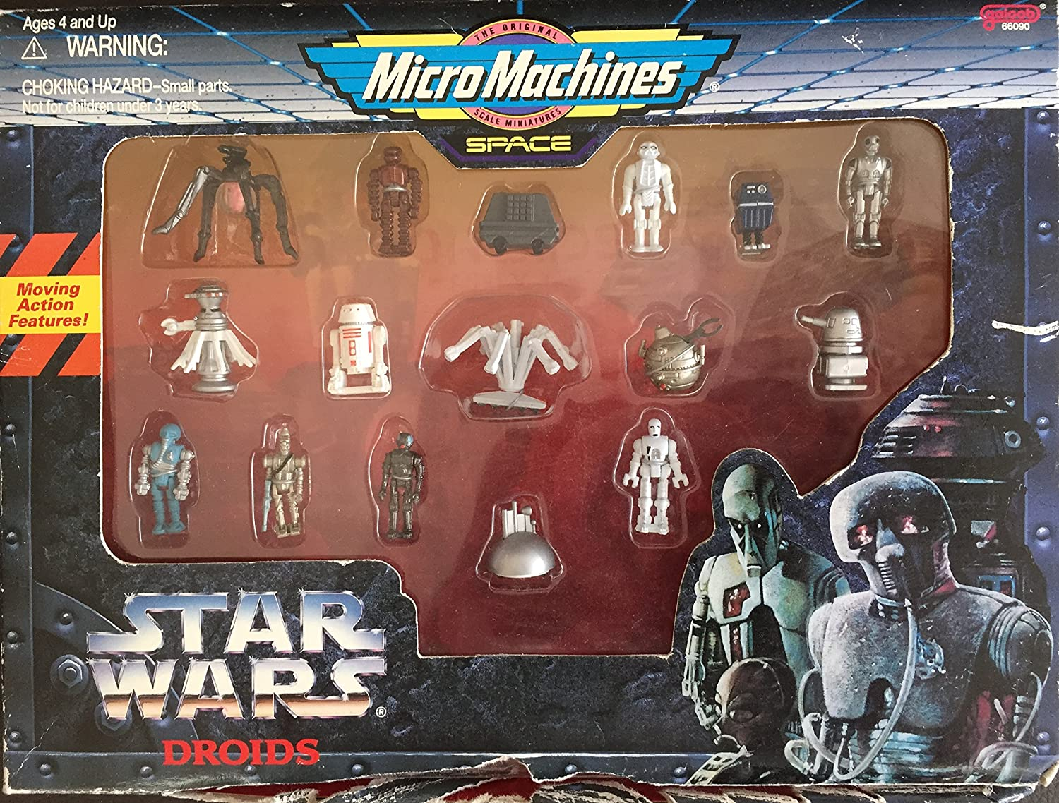 MICRO MACHINES STAR WARS FIGURE From the Droid set B/'Omarr Monk