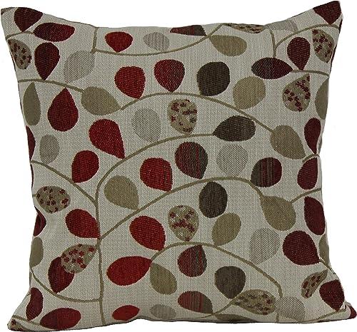 Brentwood Originals Bayberry Pillow, 18×18, Rogue