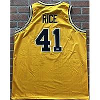 $89 » Glen Rice autographed signed jersey NBA Michigan Wolverines PSA w/COA G-Money