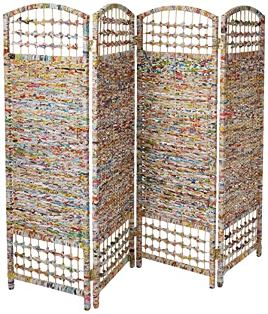 Amazoncom Oriental Furniture 4 Ft Tall Recycled Magazine Room