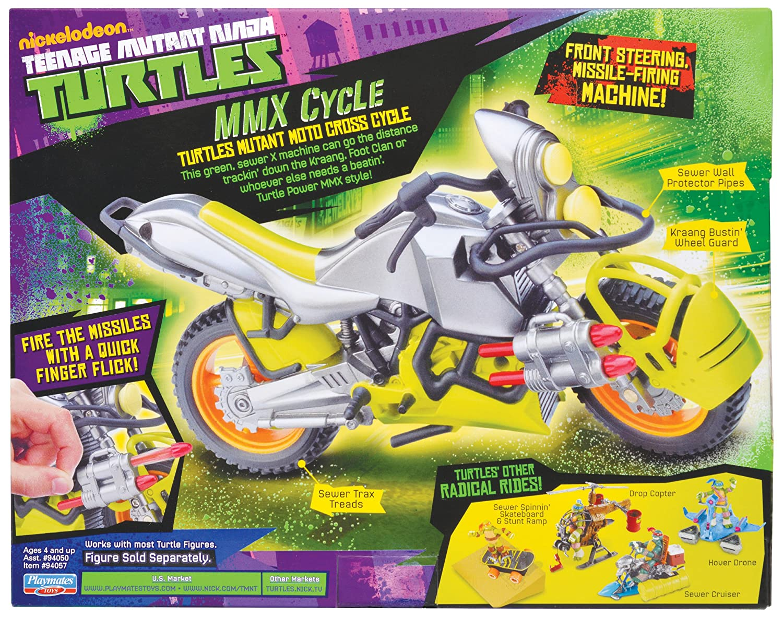 Amazon.com: Teenage Mutant Ninja Turtles MMX Vehículo Ciclo ...
