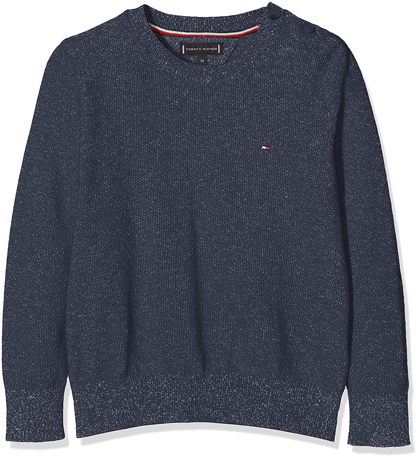 Tommy Hilfiger Baby-Jungen Pullover Twisted Rice Corn Sweater
