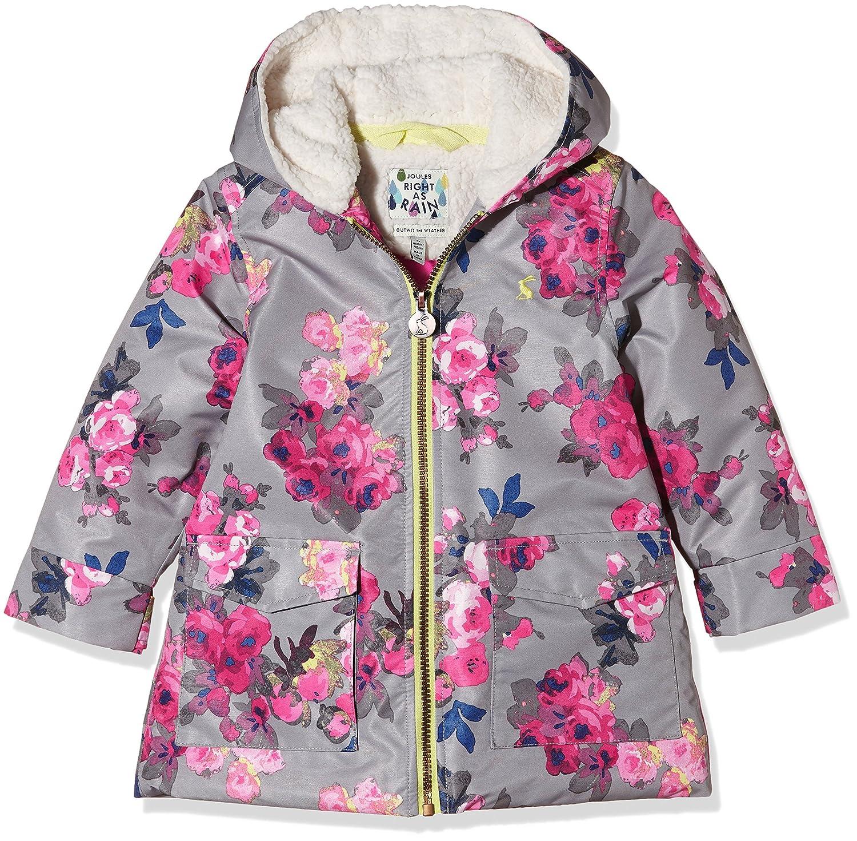 Joules Girls' Raindrop Waterproof Fleece Lined Coat Joules Childrens Apparel V_JNRRAINDROP