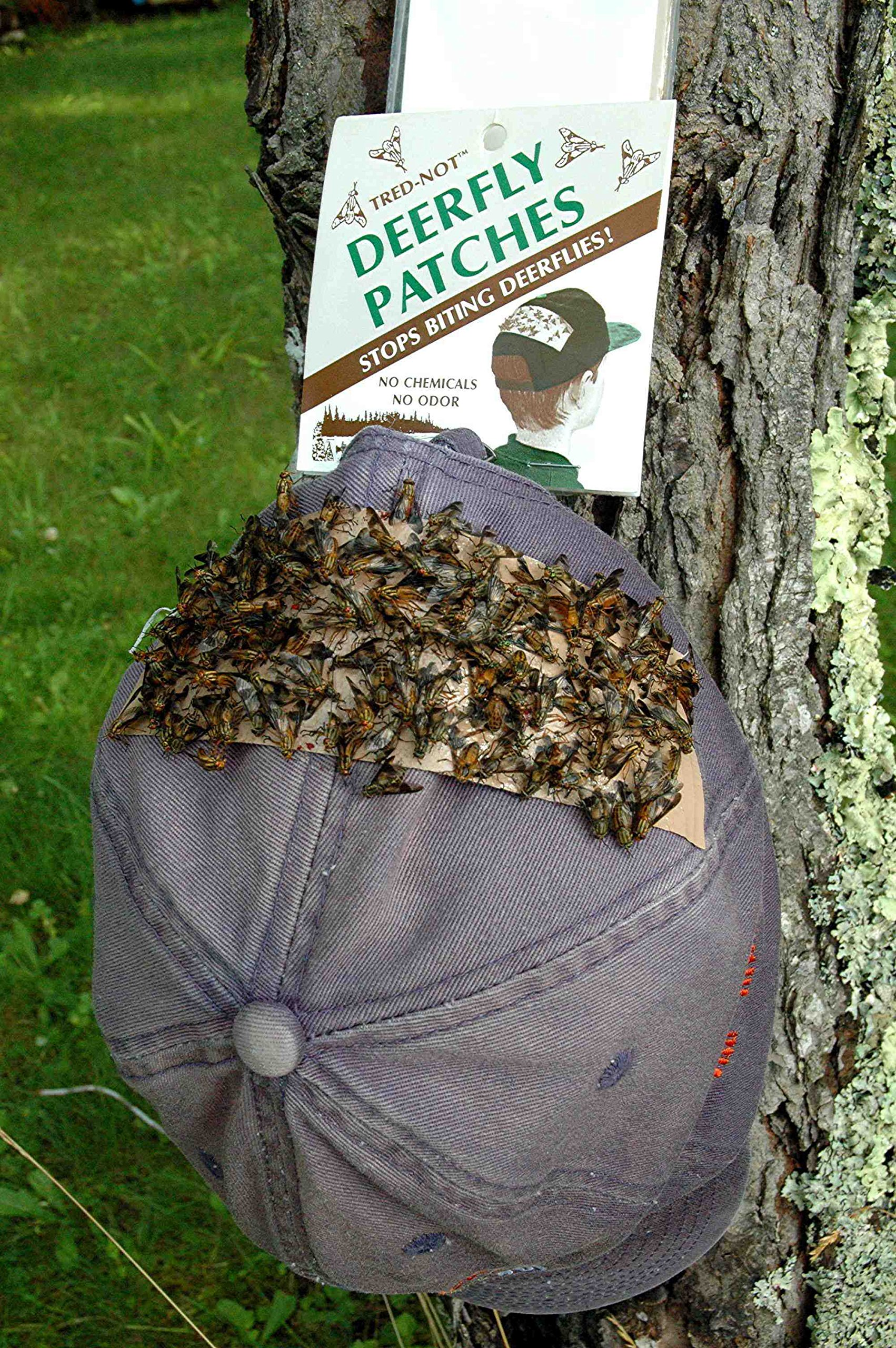 60 / Pk Deerfly Patches / TredNot Deer Fly Patch ''natural repellent''