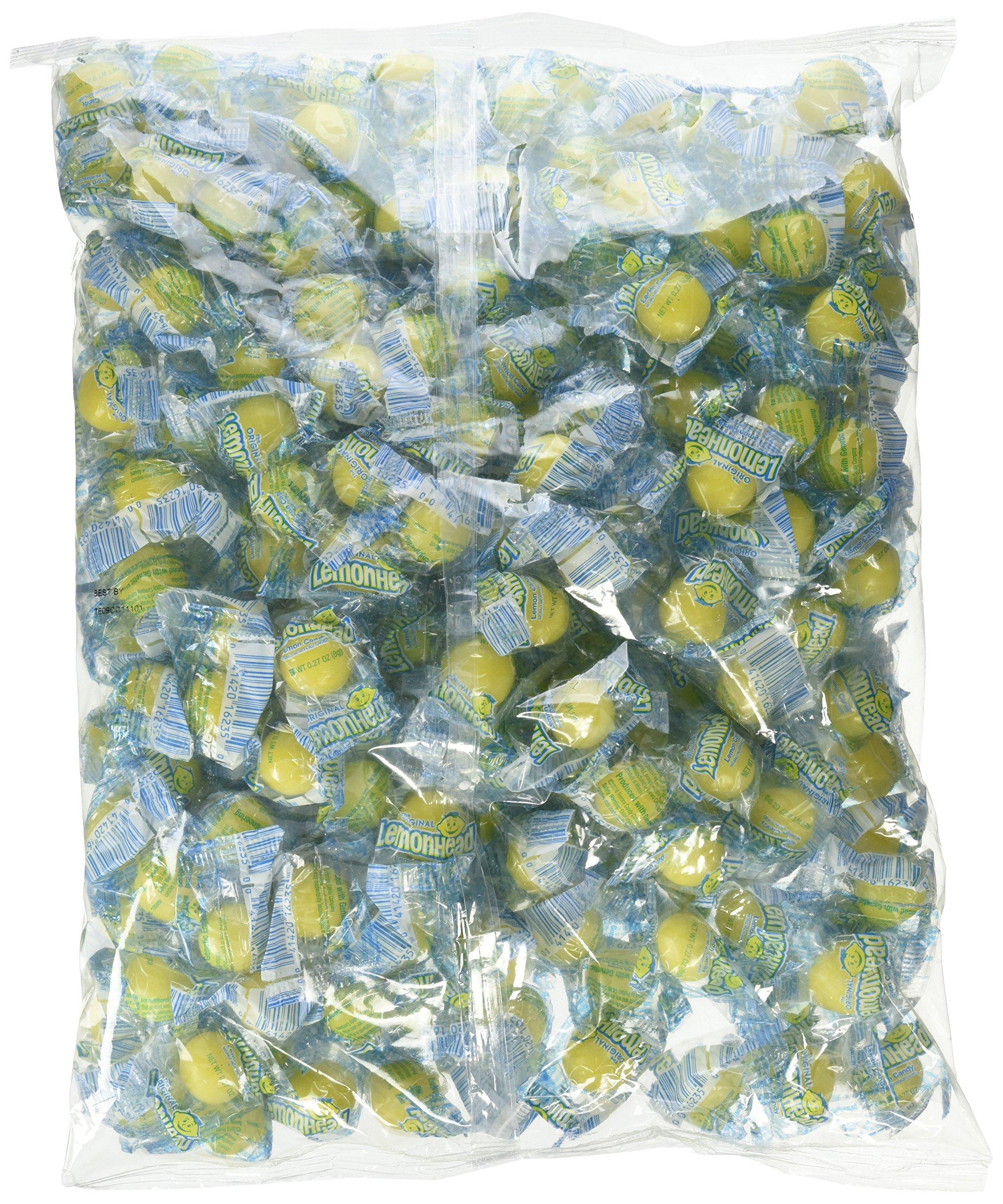 Lemonhead Hard Candy, Lemon, 3.75 Pound Bulk Candy Bag by LEMONHEADS