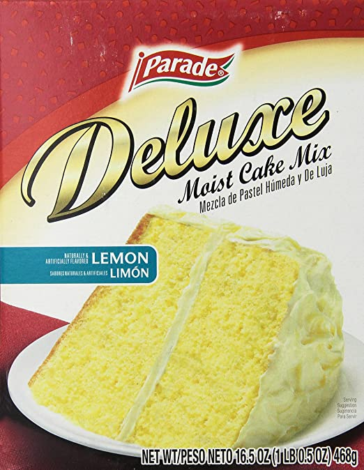 Amazon.com : Parade Cake Mix, Butter Gold, 16.5 Ounce (Pack of 12) : Grocery & Gourmet Food