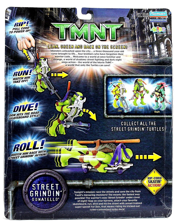 Amazon.com: PlayMates Año 2006 Teenage Mutant Ninja Turtles ...