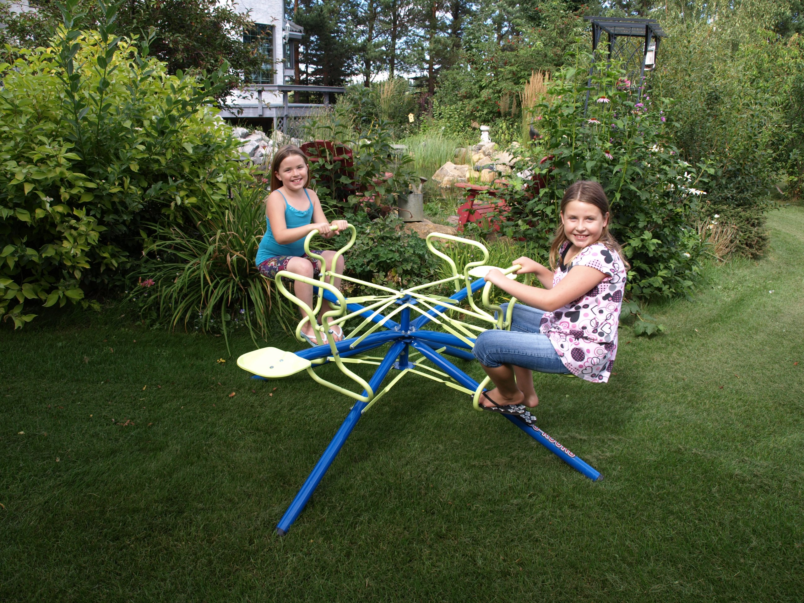 4 Seater Merry-Go-Round and Teeter Totter by Epoch Air