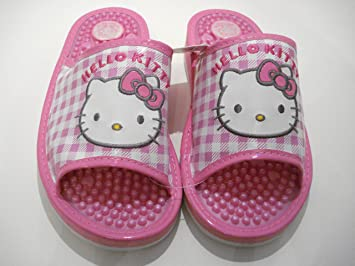 Amazon.com: Rosa Hello Kitty Zapatillas de masaje: Health ...