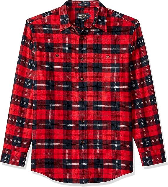 Pendleton Mens Somerset Long Sleeve Button Down Shirt