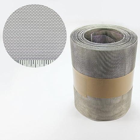300 mm X 20 METRE insecto - de acero inoxidable de malla ...