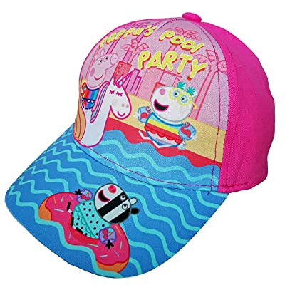 Peppa Cap/Hat,Baseball Cap,2 Sizes,Adjustable,100% Cotton,Official Licensed.: Clothing