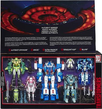 Transformers Hasbro G1 Platinum Edition Autobot HEROS Springer FIGURE NEW