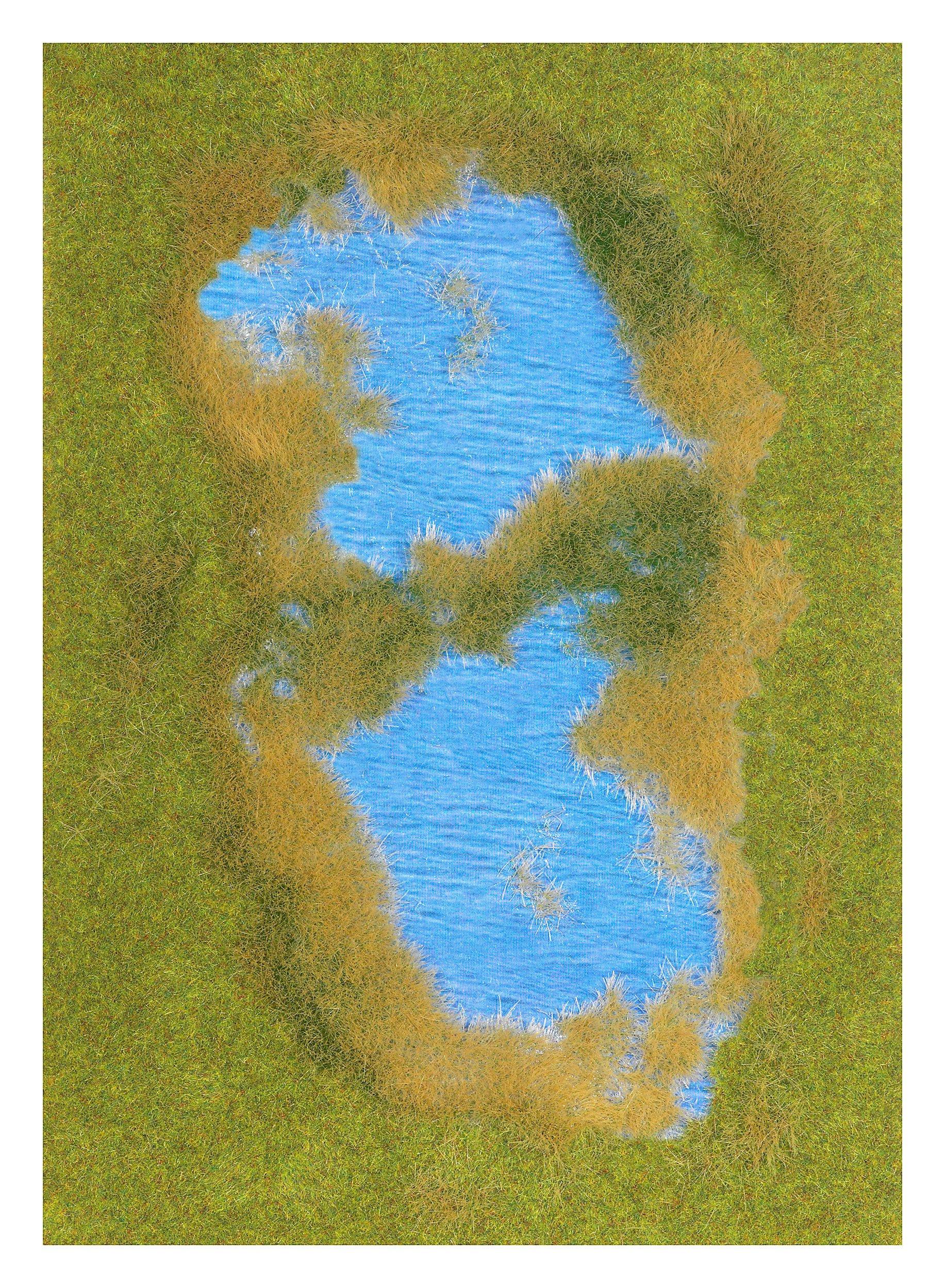 Busch 1312 Grand Lake Reed Shoreline HO Scenery Scale Model Scenery