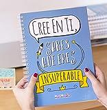 La Mente es Maravillosa - Cuaderno A4 (Cree en ti, sabes que eres insuperable) Regalo practico con dibujos graciosos (Diseño Cree en ti)