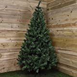 """Kaemingk - Albero di Natale """"Imperial Pine"""", in PVC, 210 cm, colore: Verde"""
