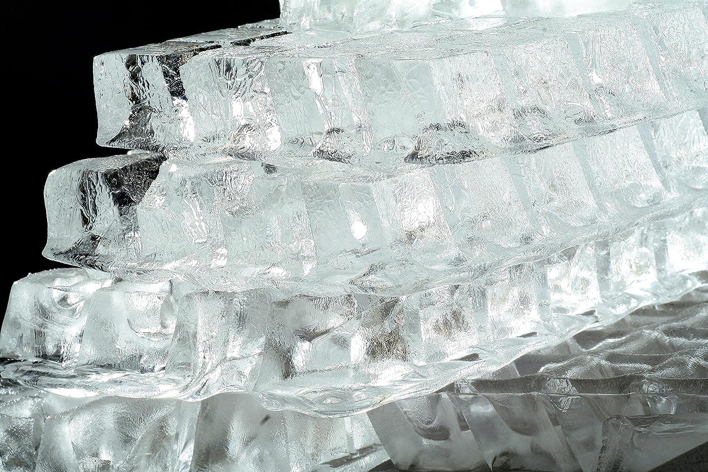 Eisw/ürfelmaschine klare Eisw/ürfel 4045 NEU GASTRO ICEAGE Eisw/ürfelbereiter