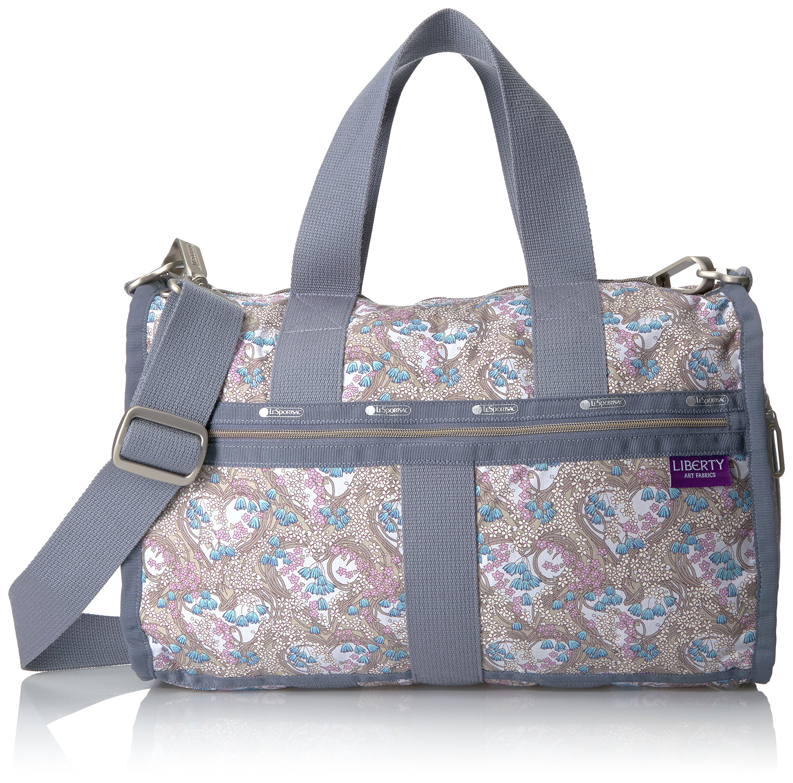 LeSportsac Women's Liberty X Essential Small Weekender, Amy Jane Lilac