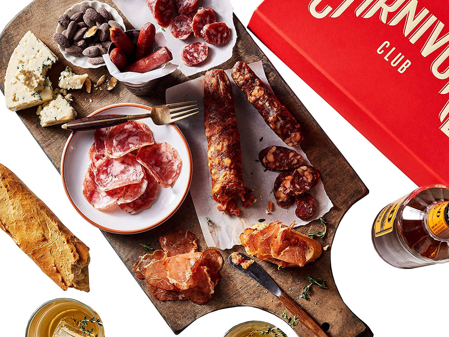Carnivore Club Gift Box - Collection of 6 Cured Meats