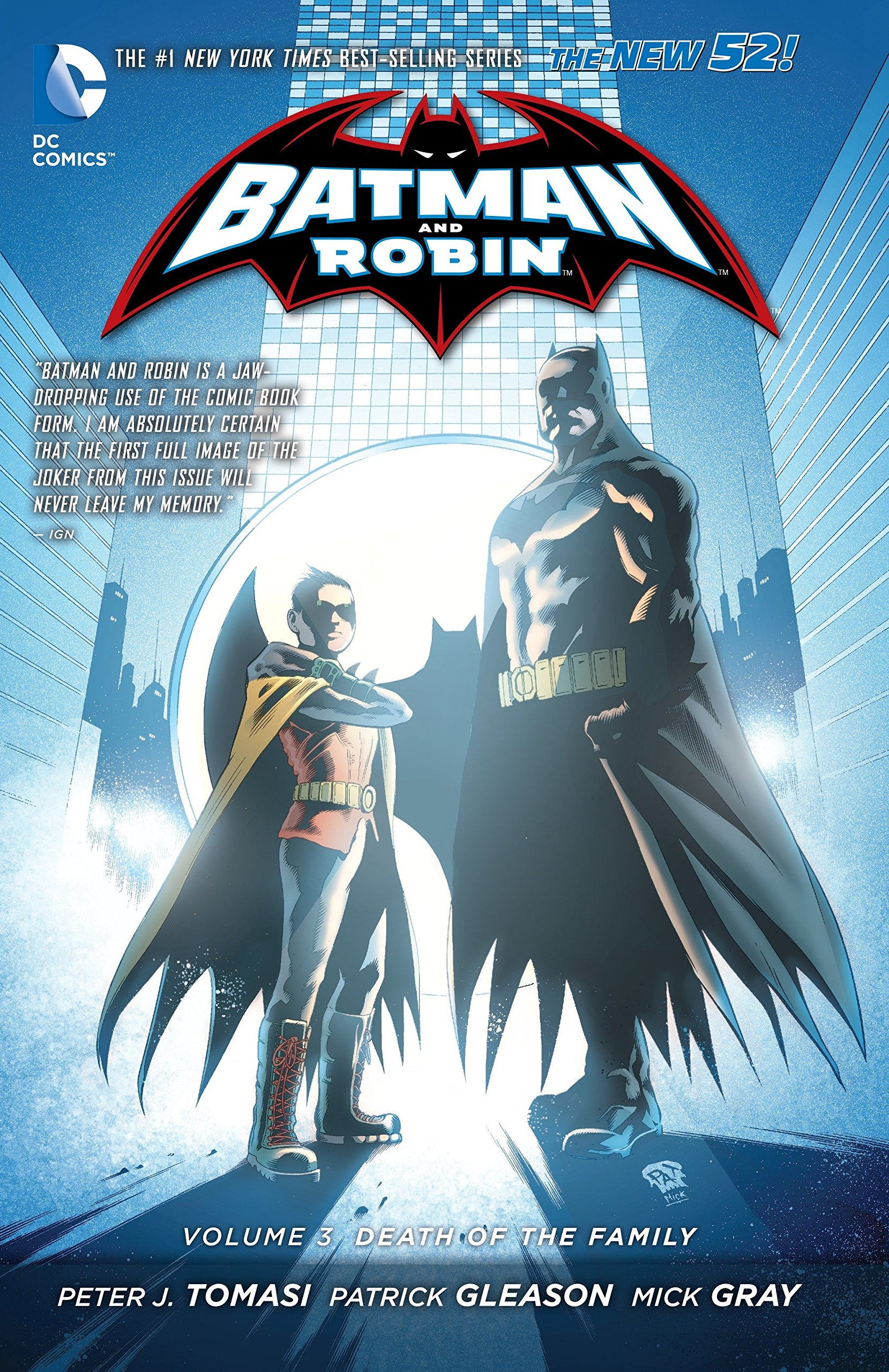 Batman And Robin Vol. 3  Death Of The Family  The New 52   Batman  The New 52