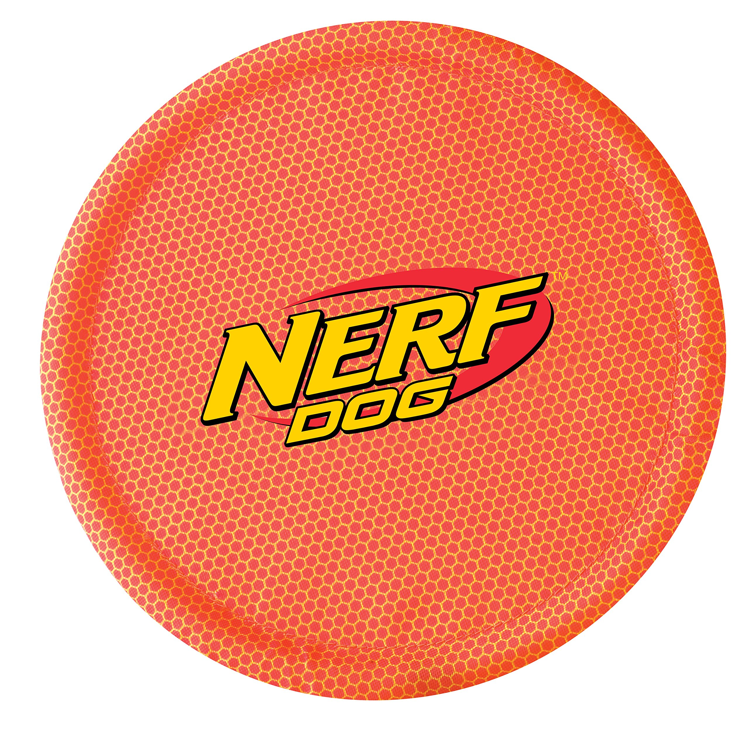 Nerf Dog Nylon Flyer Orange Single
