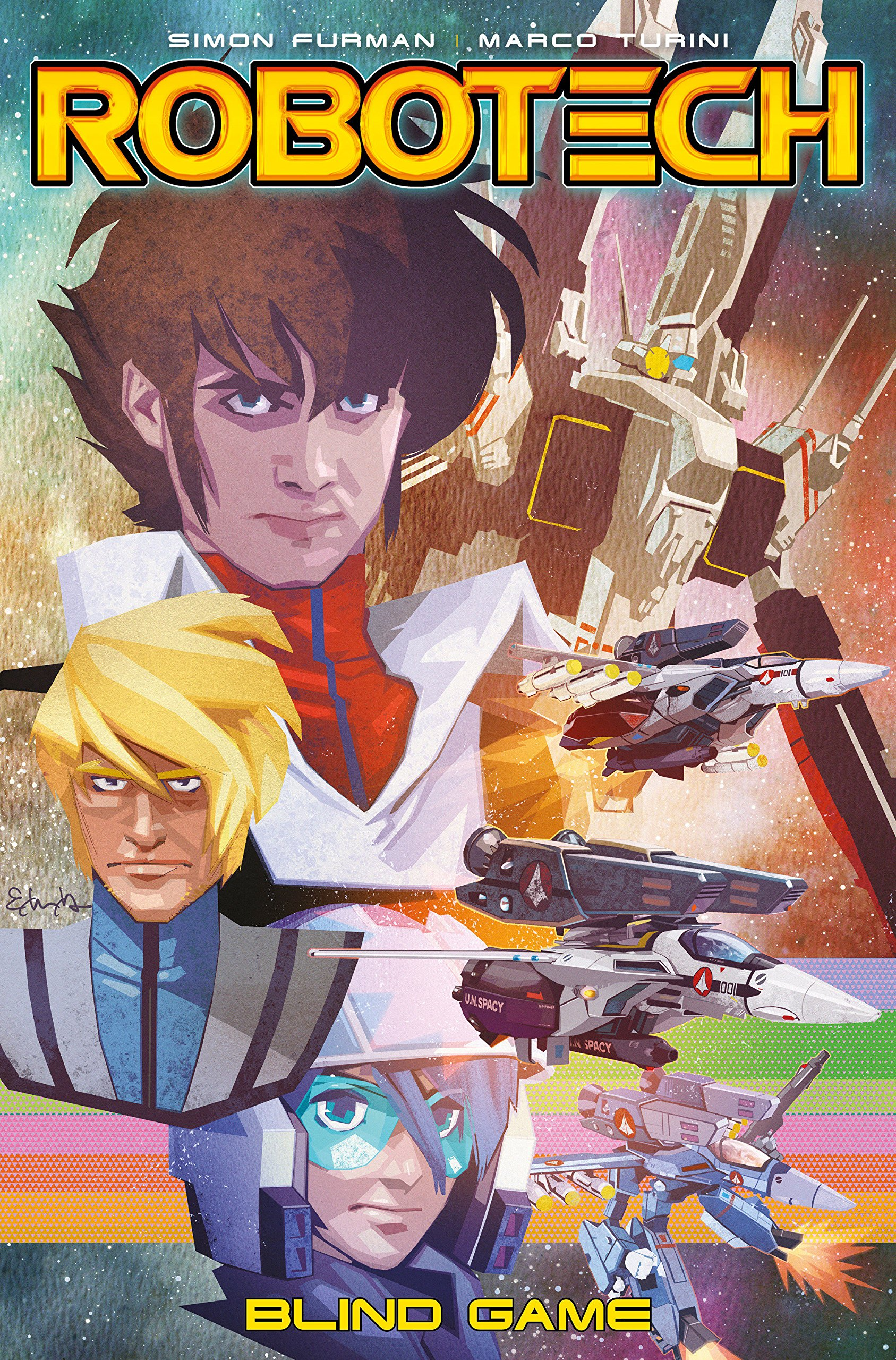 Robotech Volume 3 - Blind Game by Titan Comics