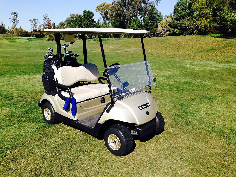 monster cart, car cart, ups go cart, on ups drivers on golf carts